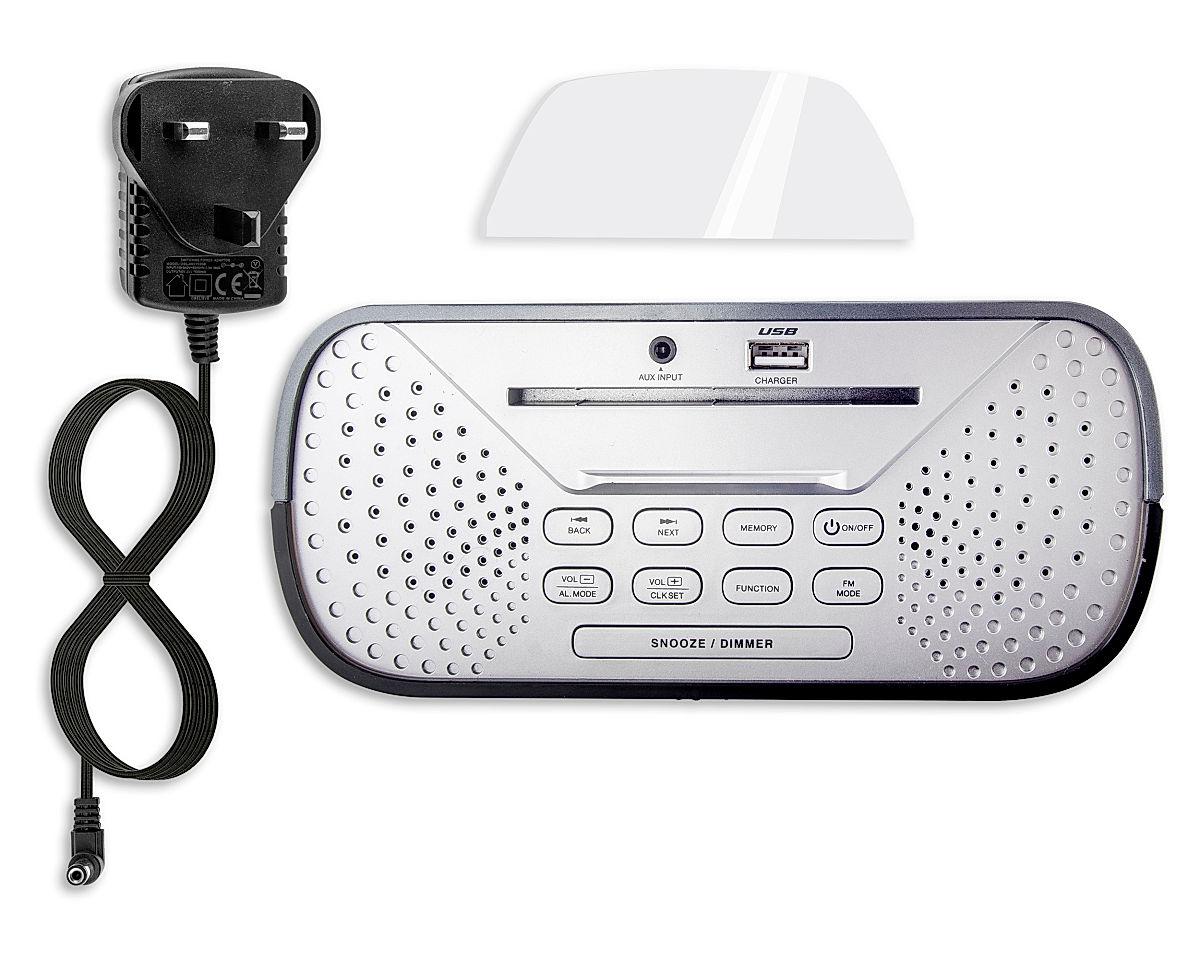 Box Contents • Clock Radio • Cradle • AC Adapter