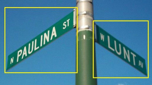 Street Name Annotation