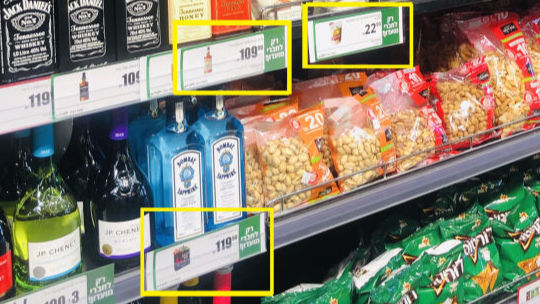 Price Tag Annotation