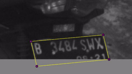 License Plate Annotation