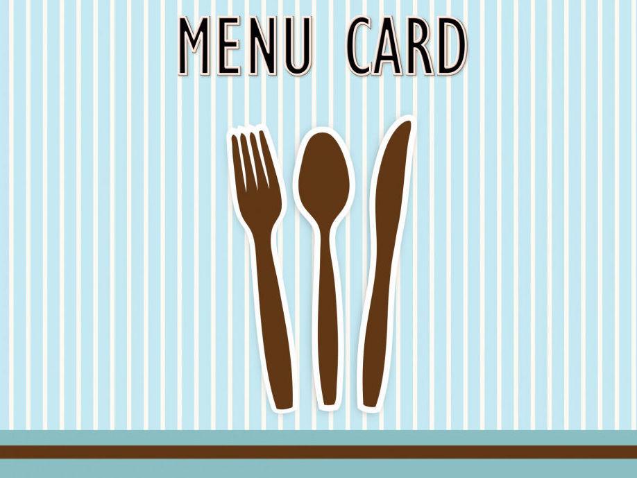 Menu Card Data Entry