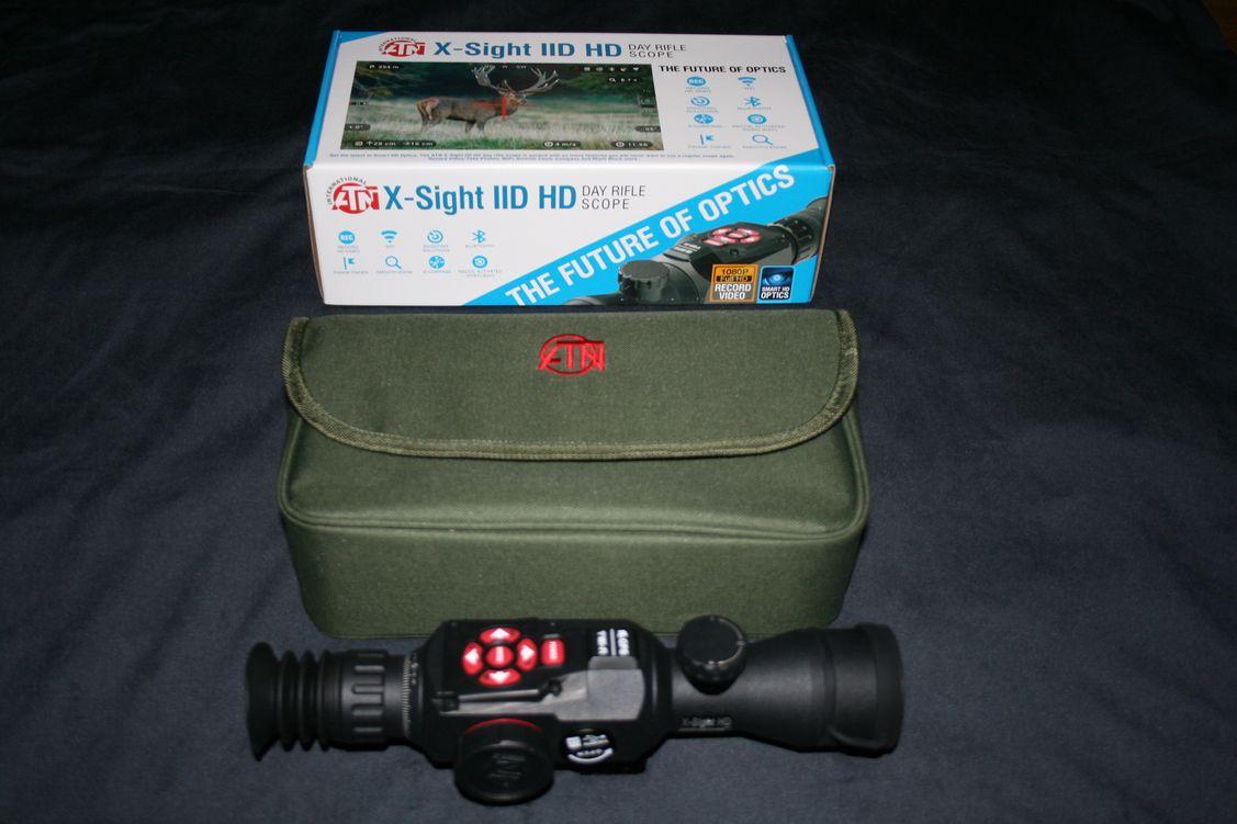 Laser Entfernungsmesser Zieloptik : Atn x sight iid hd digitale tageslicht zieloptik