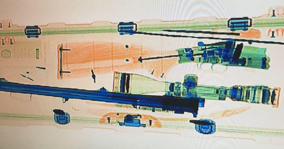 Röntgenaufnahme Zieloptik Swarovski Z8i