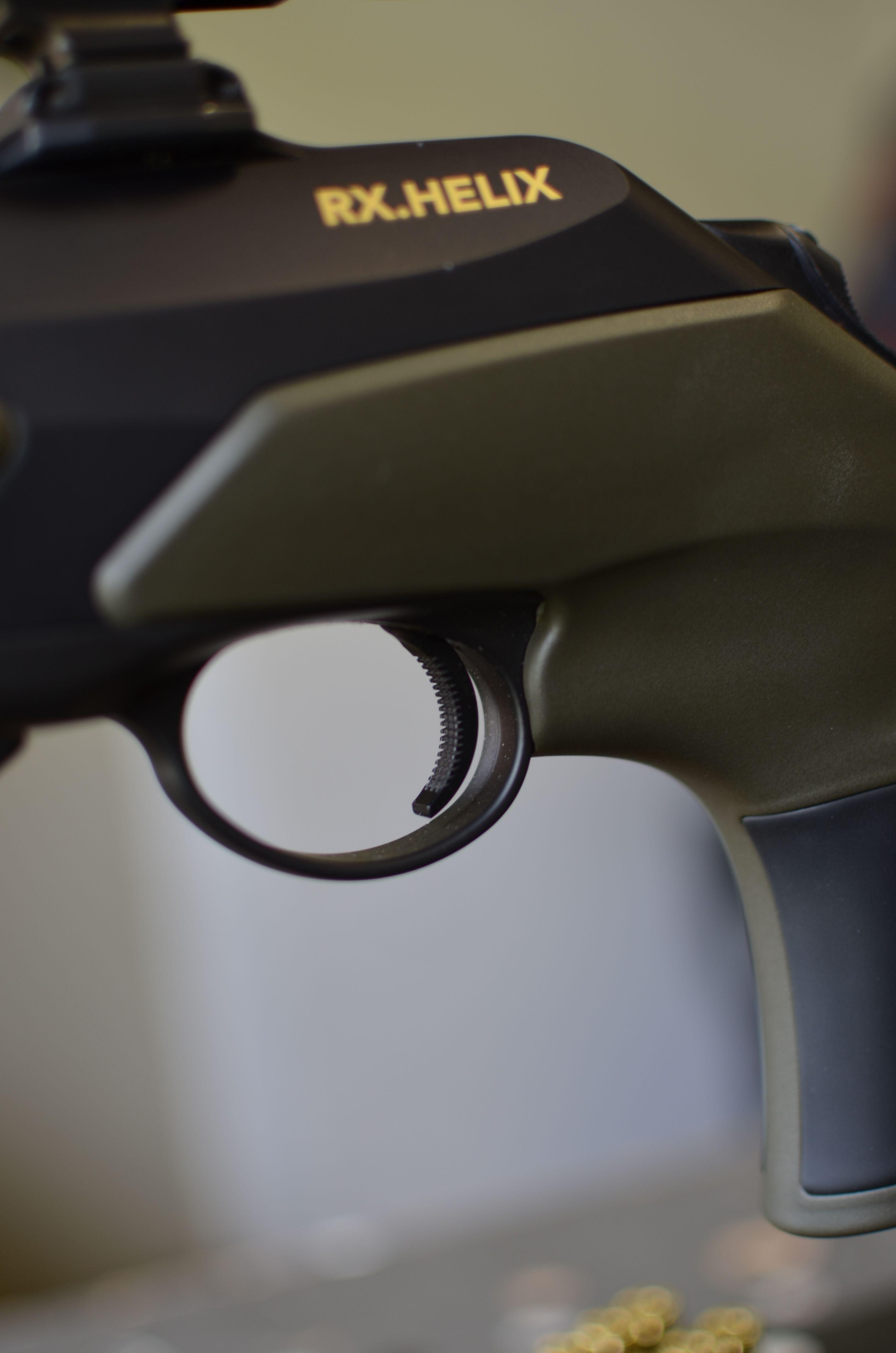 Pistolenlochschaft Daumen