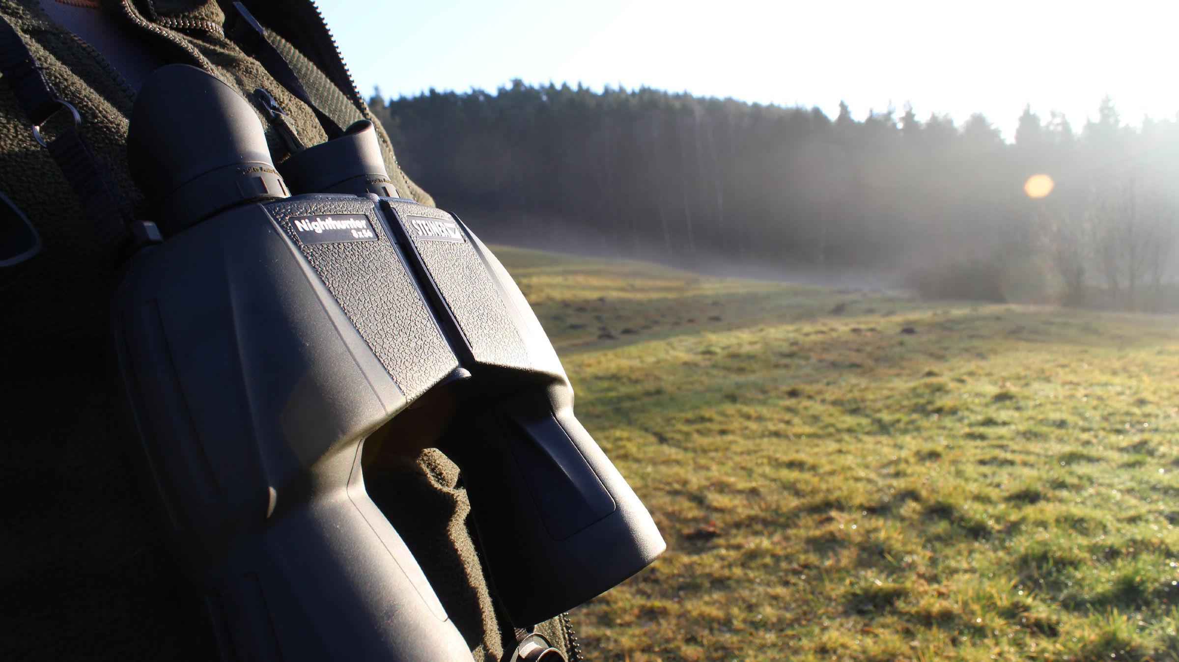 Alp Jagd Entfernungsmesser : Nachtjagd mit dem steiner nighthunter u die sonne geht unter ich