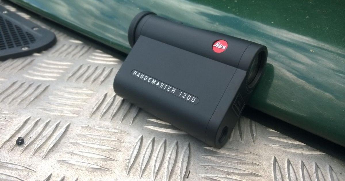 Zielfernrohr Mit Entfernungsmesser Leica : Leica rangemaster klein und präzise