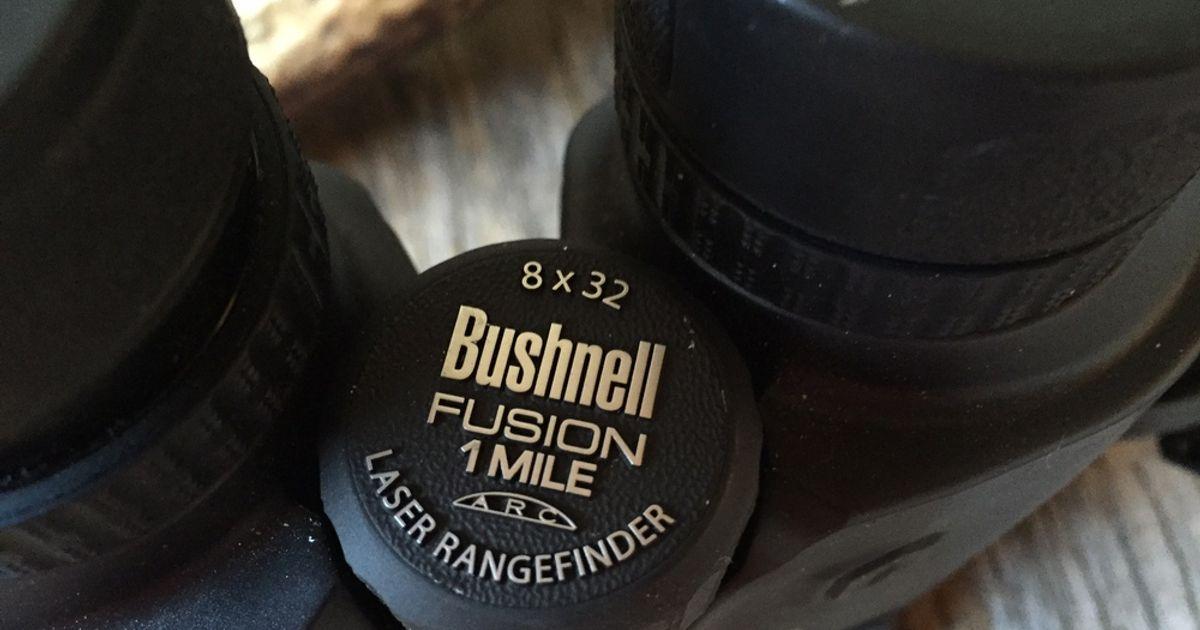 Bushnell Fernglas Mit Entfernungsmesser Fusion 1 Mile Arc 12x50 : Bushnell fusion mile arc laser rangefinder