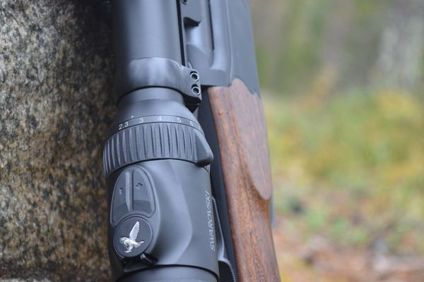 Swarovski Z8i Entfernungsmesser : Jagd freizeit swarovski z i sr zielfernrohr