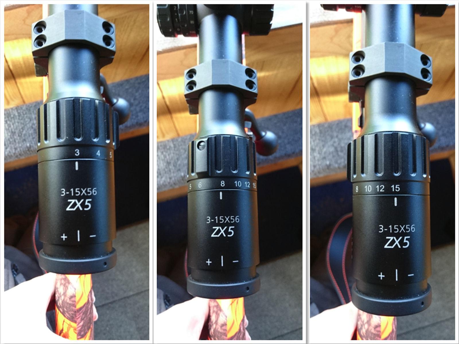 Das minox zx5i 3 15x56 zielfernrohr