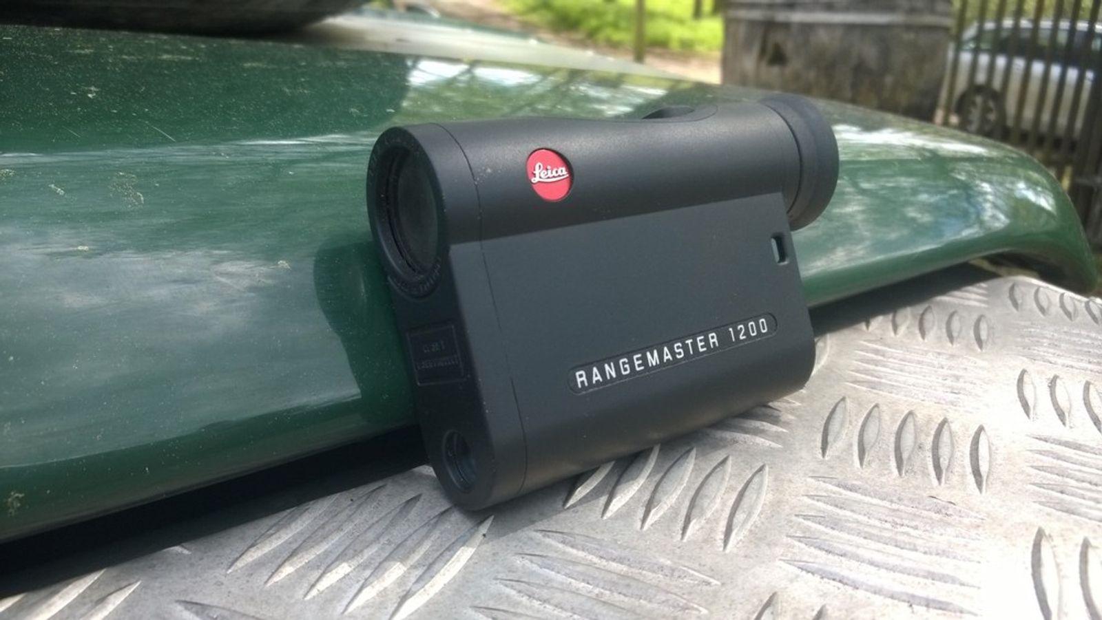 Leica rangemaster klein und präzise