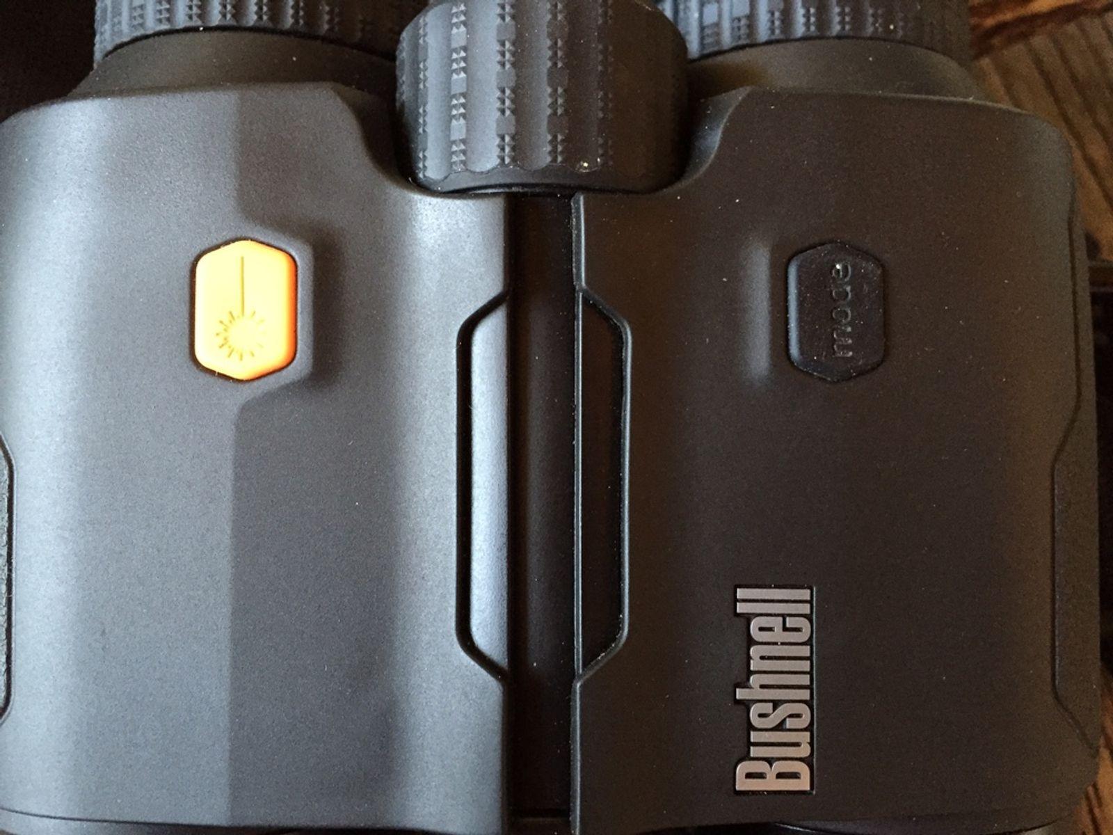 Bushnell fusion mile arc laser rangefinder