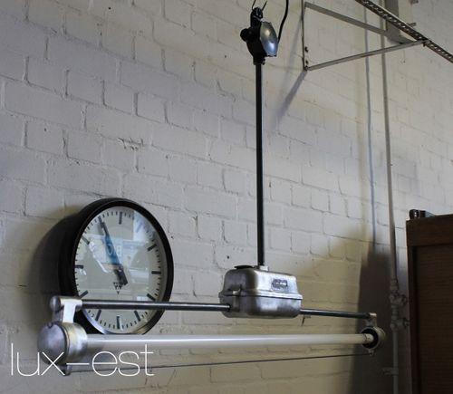 'DESSAU RAW' Industriedesign Neonlampe LED VERKAUFT