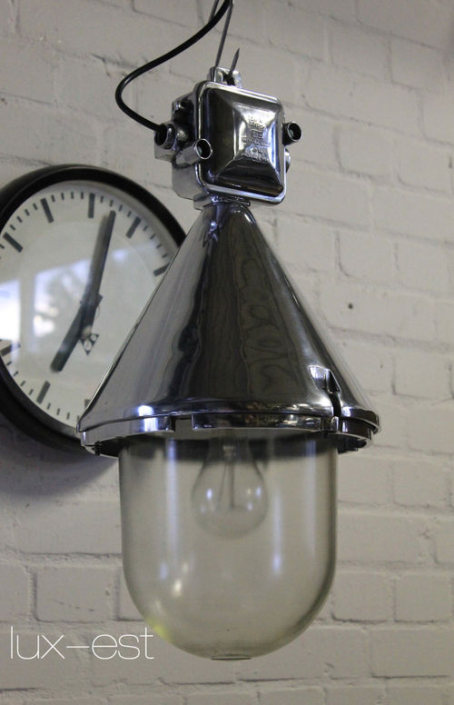 'THALE ICE NAKED L' Bunkerlampe Fabriklampe Industrie Design