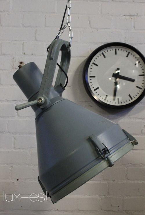 'TAKRAF' Industriestrahler Strahler Flutlicht Fabriklampe