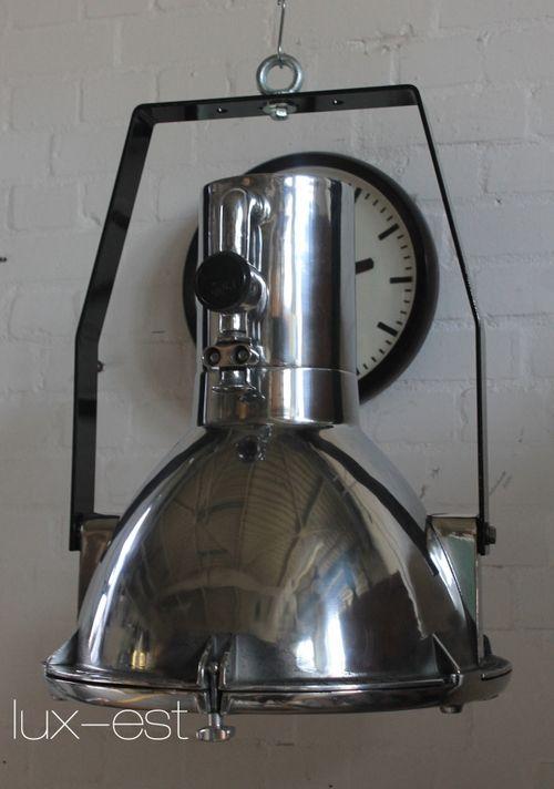 'AURORA ICE' Industrie Design Fabrik Lampe Strahler Hochglanz