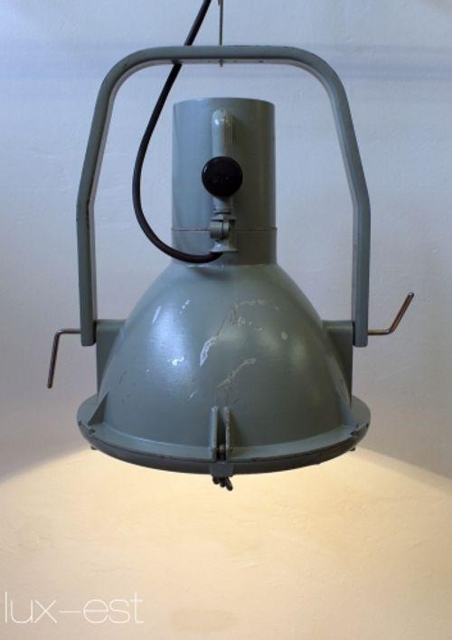 'AURORA ORIGINAL' Industrie Design Strahler Flutlicht Fabriklampe