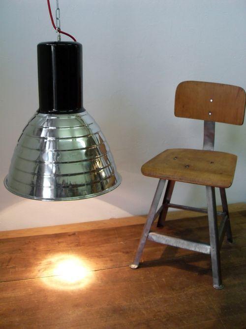 'VACHA DARK ICE' Industriedesign Fabrik Lampe Loft Lounge Office
