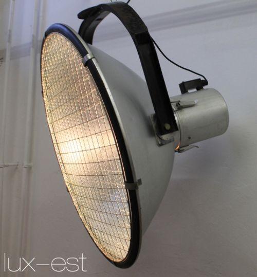 'KOMET XL' Industrie Design Flutlicht Strahler VERKAUFT