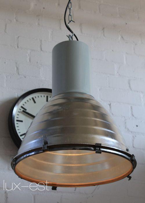 'VACHA I' Fabriklampe  Hallen Lampe Industrie Design Loft Glas