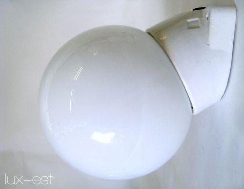 'BERLIN M 30° OPAL' Bauhaus Lampe Opalglas Porzellanlampe