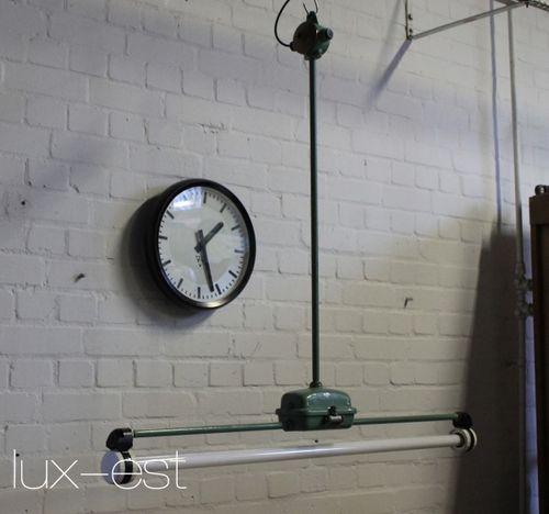 'WERDAU' Neon Werkstatt Industrie Design Lampe Vintage Original