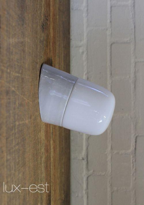 'LEUNA XS 30°' Bauhaus Zweck Lampe Opalglas Wagenfeld