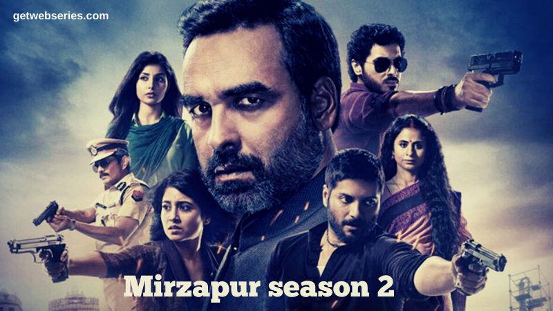 Mirzapur season 2 is one of the best Amazon Prime Web Series List Hindi 2020
