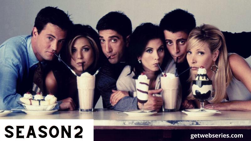 index of friends season 2