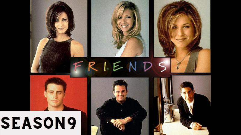 index of friends season 9