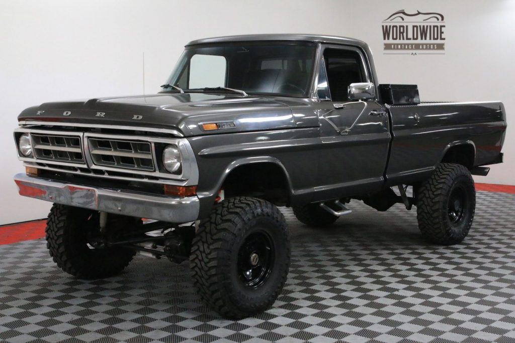 1971 Ford F-100 Restored 390 Lifted 4-Speed 3/4