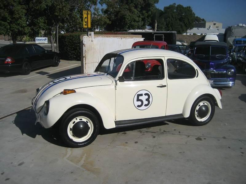 Restored 1971 Volkswagen Beetle Herbie Love bug