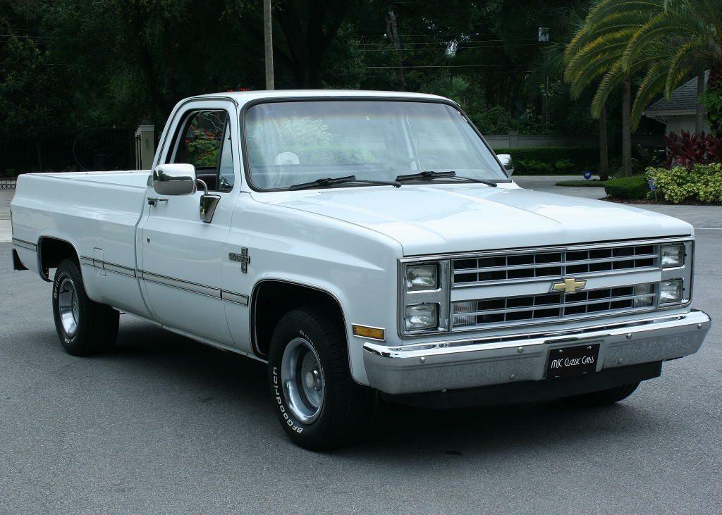 Restored 1987 Chevrolet Silverado 1500 Pickup truck