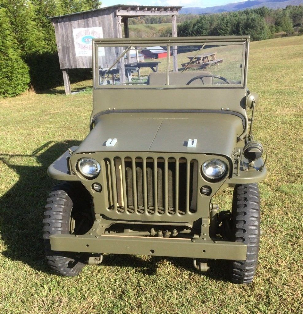 completely restored 1942 Ford GPW military worker