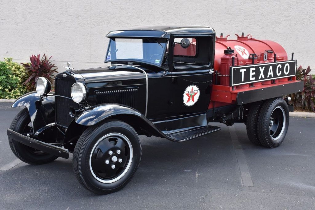 vintage and rare 1931 Ford Pickups Tanker restored