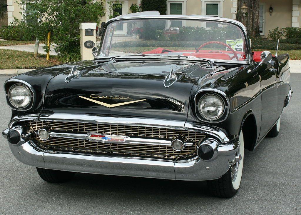 excellent 1957 Chevrolet Bel Air Convertible restored