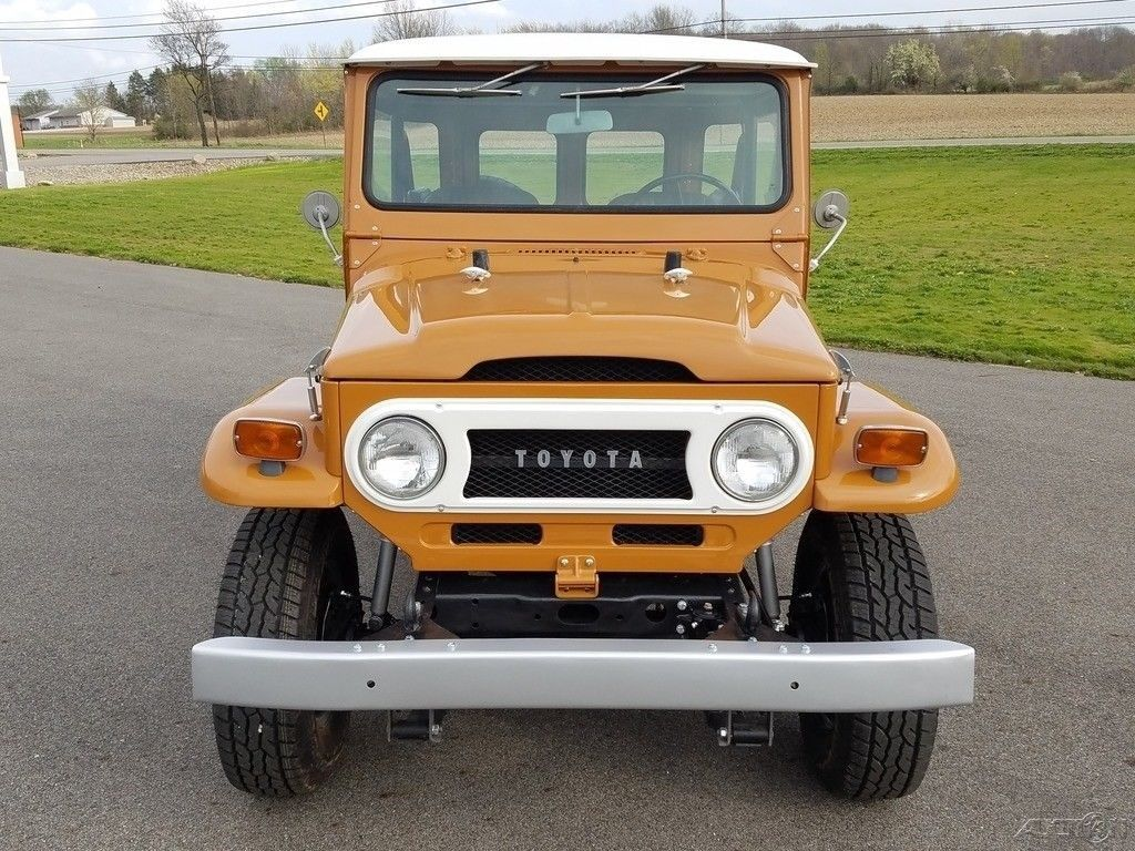 stunning 1973 Toyota Land Cruiser 4×4 restored