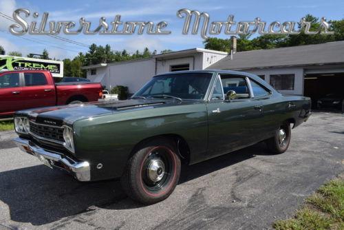 1968 Plymouth RoadRunner 2 Door Pillar Coupe HEMI, Restored Build Sheet