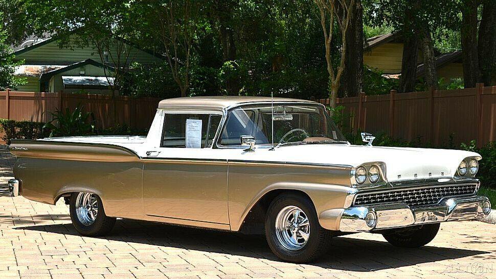 1959 Ford Ranchero Excellent Restoration 'C' Code 292 V8 sweet