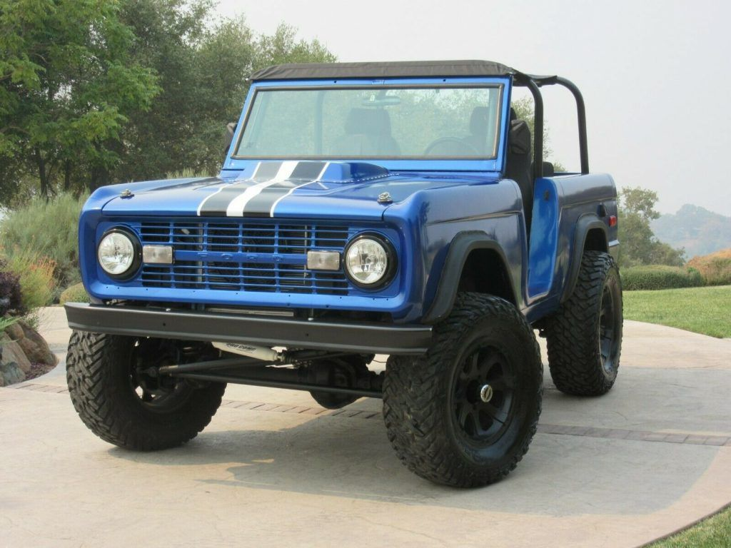 1973 Ford Bronco 4×4 Eleanor Roadster