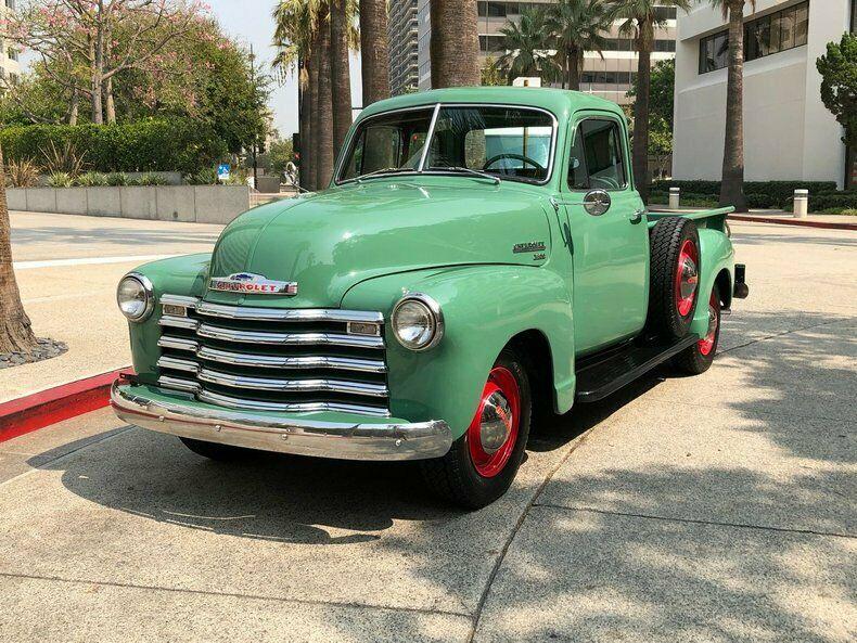 1951 Chevrolet 3600 -> Frame Off Restored