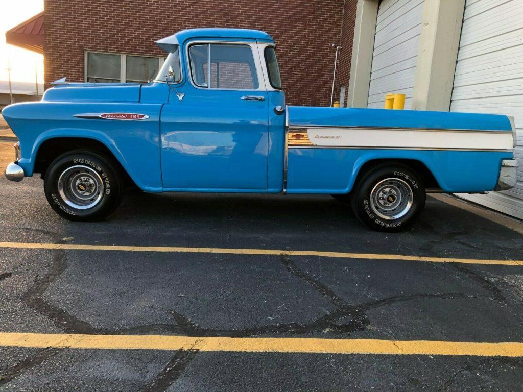 1957 Chevrolet Apache Cameo Fleetside – Nicely restored