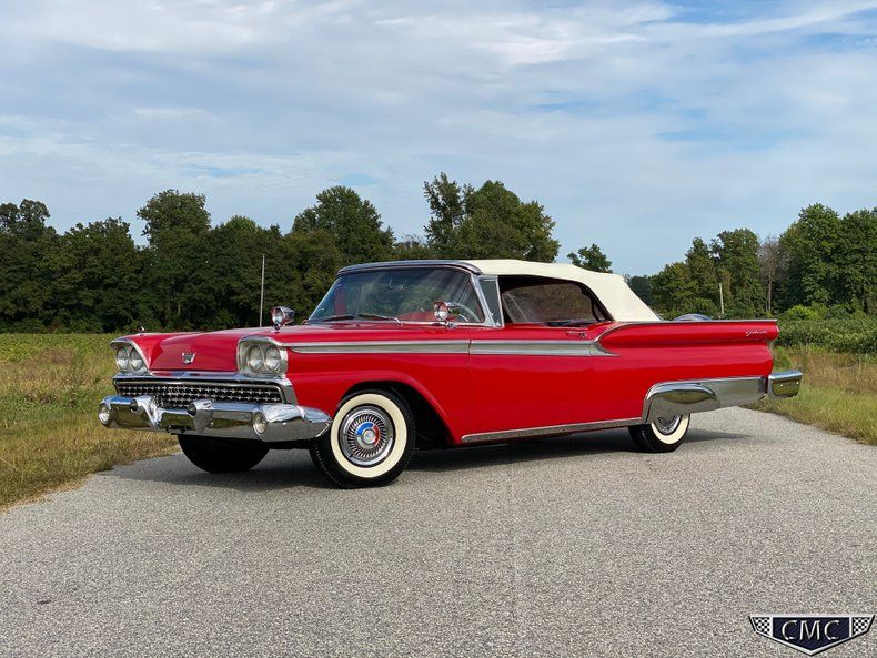 1959 Ford Fairlane 500 Galaxie Sunliner Convertible Frame-Off Restoration