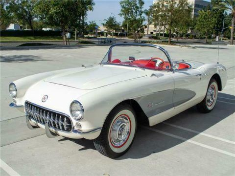 1957 Chevrolet Corvette Convertible [Fuel Injected, Frame off restored] for sale
