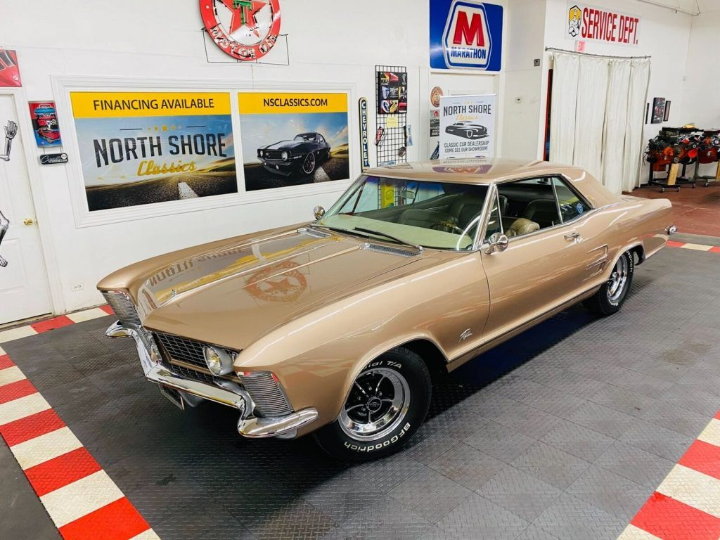 1964 Buick Riviera with 425 Wildcat Engine [HIGH Quality Restoration]