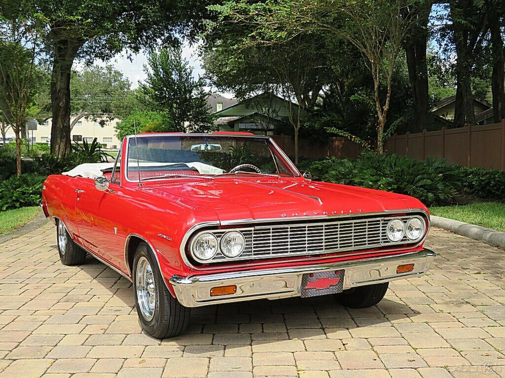 1964 Chevrolet Malibu Convertible [Gorgeous Restoration]