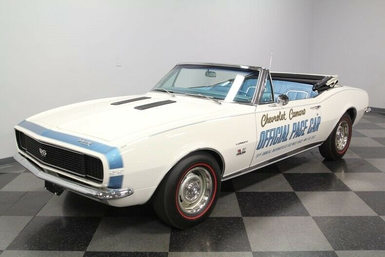 Classic Vintage 1967 Chevrolet Camaro Indy 500 Pace Car Convertible restored