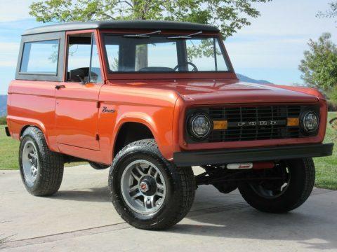 1968 Ford Bronco Un-Cut Off Frame Restoration for sale