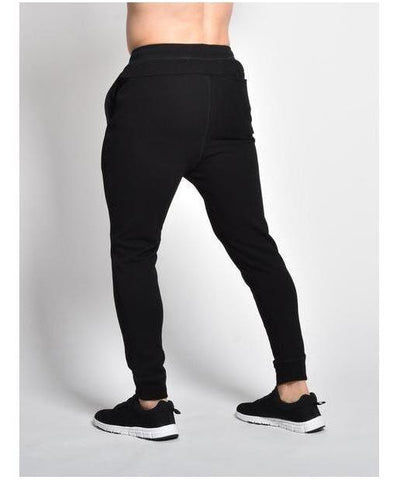 Pursue Fitness Retro Joggers Black-Pursue Fitness-Gym Wear