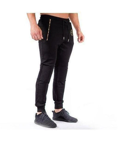 Squad Wear Padded Joggers Black-Squad Wear-Gym Wear