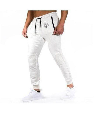 Squad Wear Padded Joggers Grey-Squad Wear-Gym Wear
